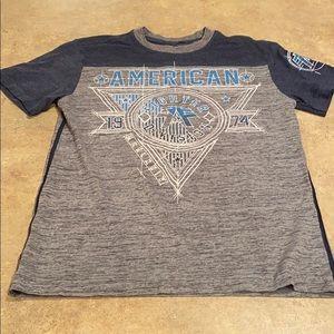 Boys American Fighter shirt size medium